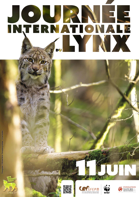 affiche Journée Internationale du Lynx